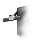 3M DH240MB Document Clip Black,Silver document holder