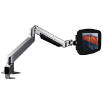Maclocks iPad Secure Space Enclosure with Reach Articulating Arm Kiosk Black - Desk mount for Apple iPad - lo