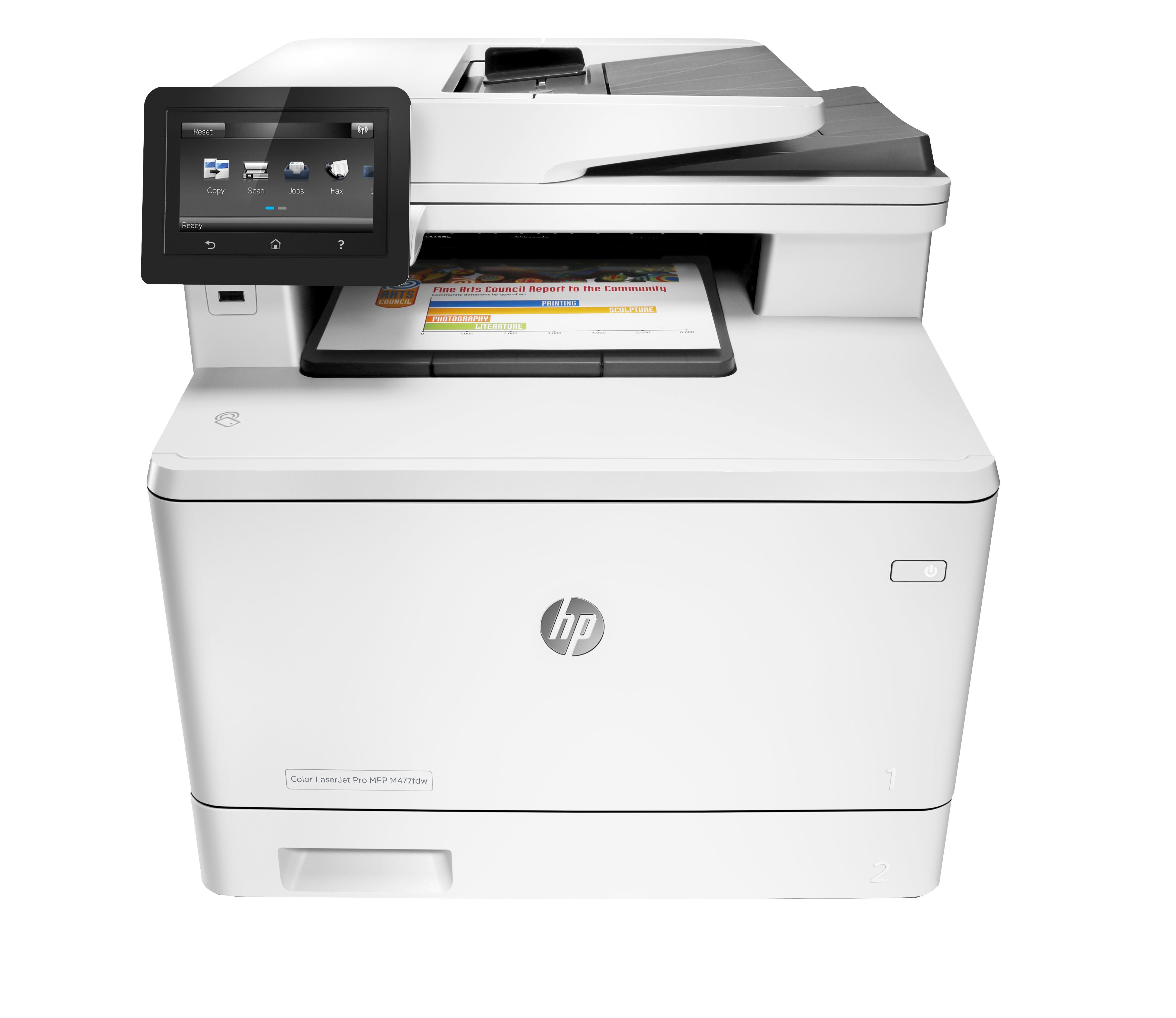 HP LaserJet Pro MFP M477fdn Laser A4 Grey