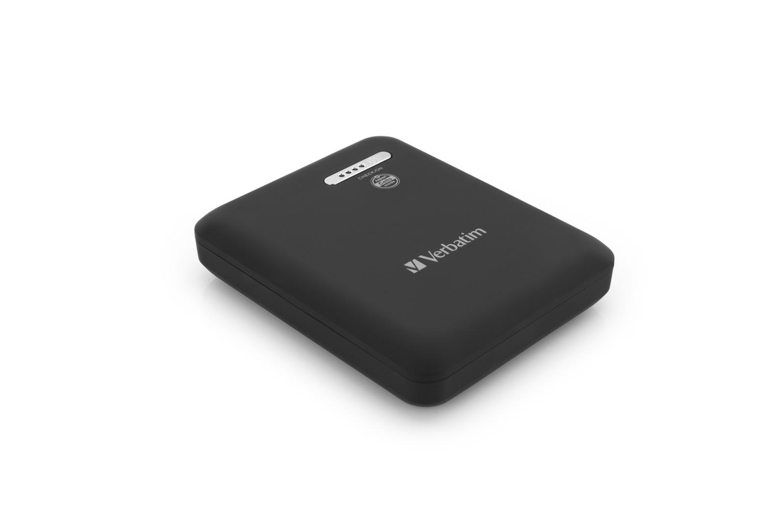 Verbatim Dual USB Portable Power Pack - 13,600mAh