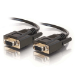 C2G 2m DB9 Cable serial cable Black