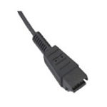 Zebra ADP-35M-QDCBL1-01 cable interface/gender adapter 3.5mm QD Black