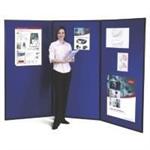 Nobo Showboard Extra 3 Panel Blue/Grey showcase