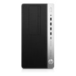 HP ProDesk 600 G4 Intel® 8ste generatie Core™ i5 i5-8500 8 GB DDR4-SDRAM 256 GB SSD Zwart Micro Tower PC