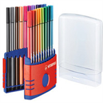 STABILO Pen 68 felt pen Multicolor 20 pc(s)