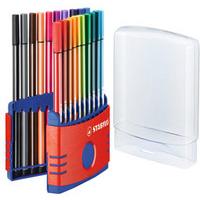 STABILO Pen 68 felt pen Multicolor 20 pc(s)