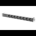 Digitus DN-95410-R power distribution unit (PDU) 1U Black 8 AC outlet(s)