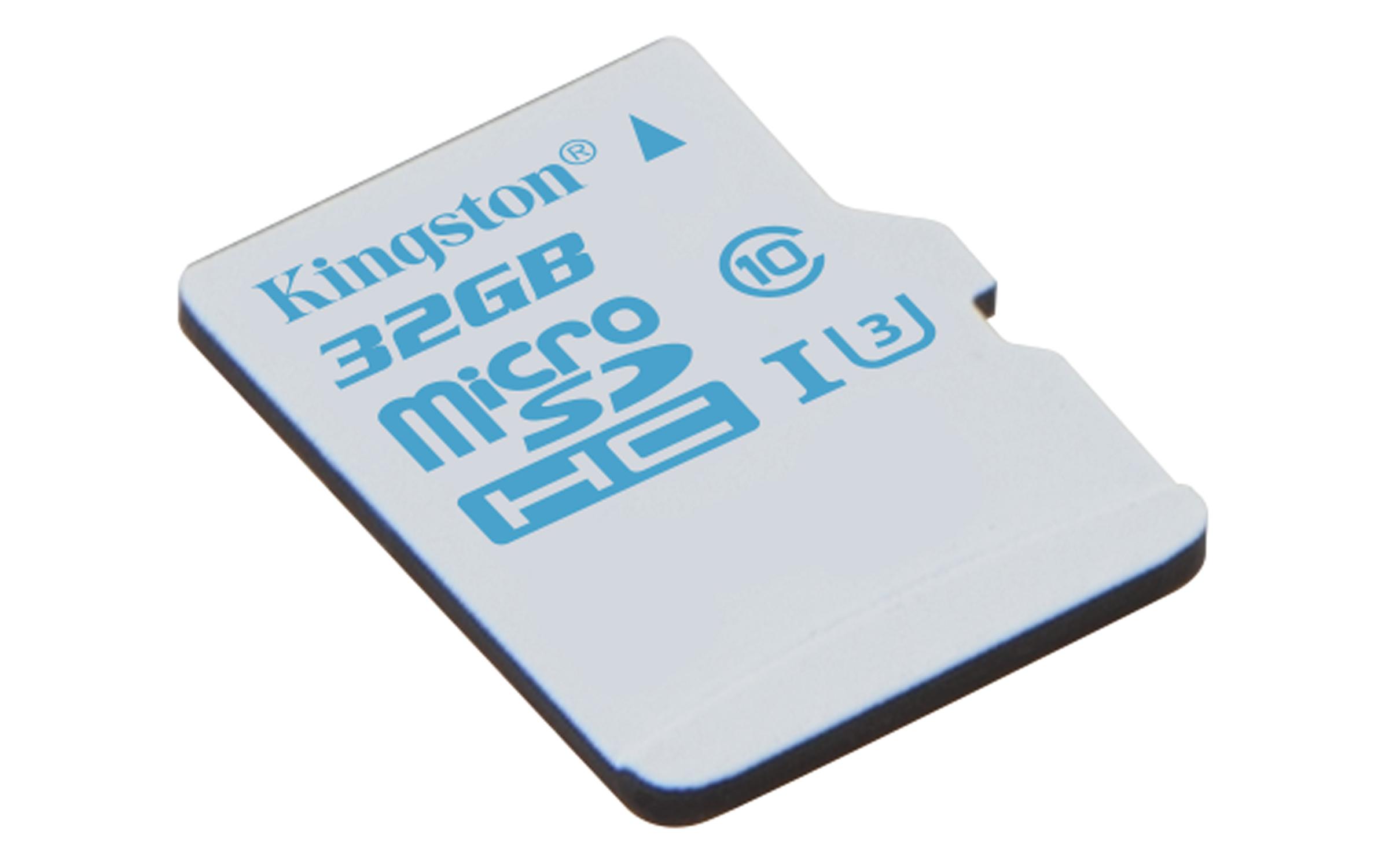 Kingston Technology microSD Action Camera UHS-I U3 32GB 32GB MicroSDHC UHS-I Class 3 memory card