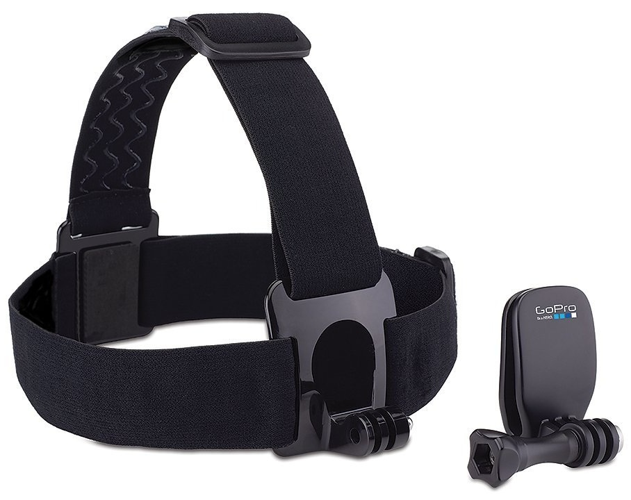 GoPro Head Strap + QuickClip Camera mount