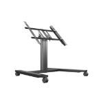 Multibrackets M Public Display Stand 80 HD Wheelbase Single Black