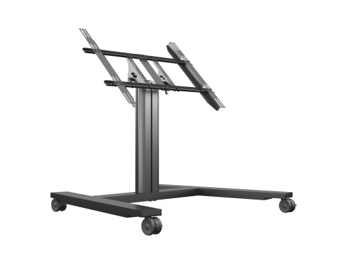 Multibrackets M Public Display Stand 80 HD Wheelbase Single Black