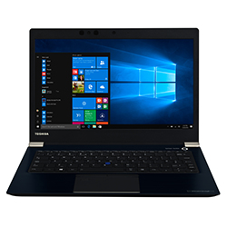 Portege X30-e-12w Black - 13.3in - i5-8250u - 8GB Ram - 256GB SSD - Win10 Pro - Qwerty Uk