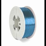 Verbatim 55056 3D printing material Polyethylene Terephthalate Glycol (PETG) Blue, Transparent 1 kg