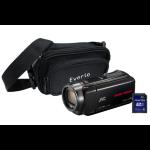 JVC GZ-R435 Black Quad Proof Camcorder Kit inc 32GB SD Card and Case