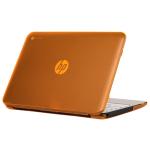 "iPearl MCOVERHPC11G2ORG notebook case 11.6"" Hardshell case Orange,Translucent"