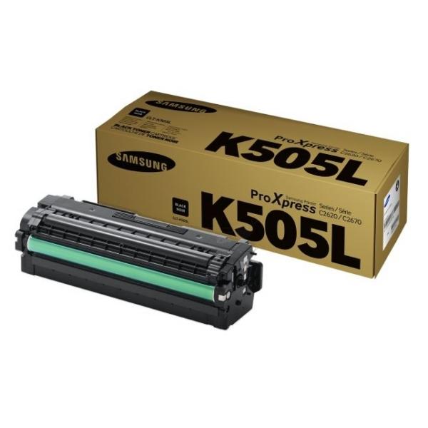 Samsung CLT-K505L/ELS (K505L) Toner black, 6K pages