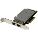 StarTech.com Tarjeta Adaptador de Red PCI Express Ethernet 10GBase-T con 2 Puertos RJ45 Chipset Intel x540