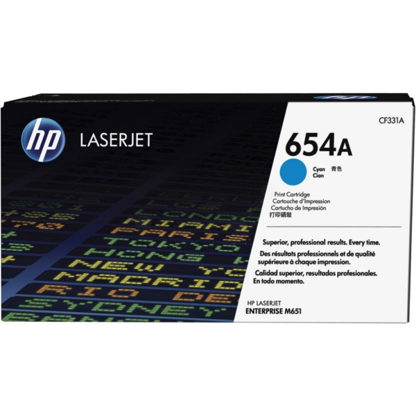 HP CF331A (654A) Toner cyan, 15K pages