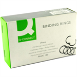 Q-CONNECT Q CONNECT BINDING RINGS 19MM PK100
