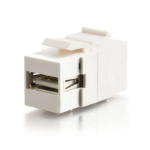 C2G Snap-In USB A/B Female Keystone Insert Module