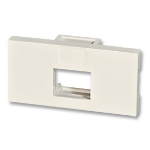 Lindy Single Snap-in Block White flat panel wall mount