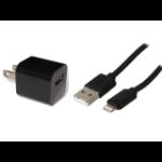 4XEM 4XAPPLKIT3BK mobile device charger Black Indoor