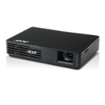 Acer C120 100ANSI lumens DLP WVGA (854x480) Black data projector
