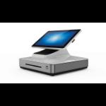 "Elo Touch Solution E347918 POS system Alles-in-een 2 GHz 39,6 cm (15.6"") 1920 x 1080 Pixels Touchscreen Grijs, Wit"