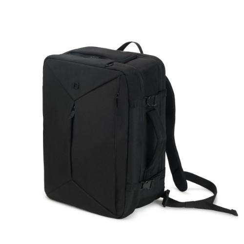 Dicota Dual Plus EDGE notebook case Backpack Black