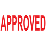 Colop GREEN LINE WORD STAMP APPROVED