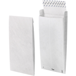 Tyvek Gusseted Envelopes Extra Capacity Strong B4A H353xW250xD38mm White Ref 11843 [Pack 100]