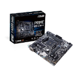 ASUS AMD AM4 uATX motherboard with LED lighting, DDR4 3200MHz, 32Gb/s M.2, USB3.0,SATA 6Gb/s, USB 3.0.