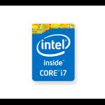HP 6DS32AV self-adhesive label Blue Rectangle