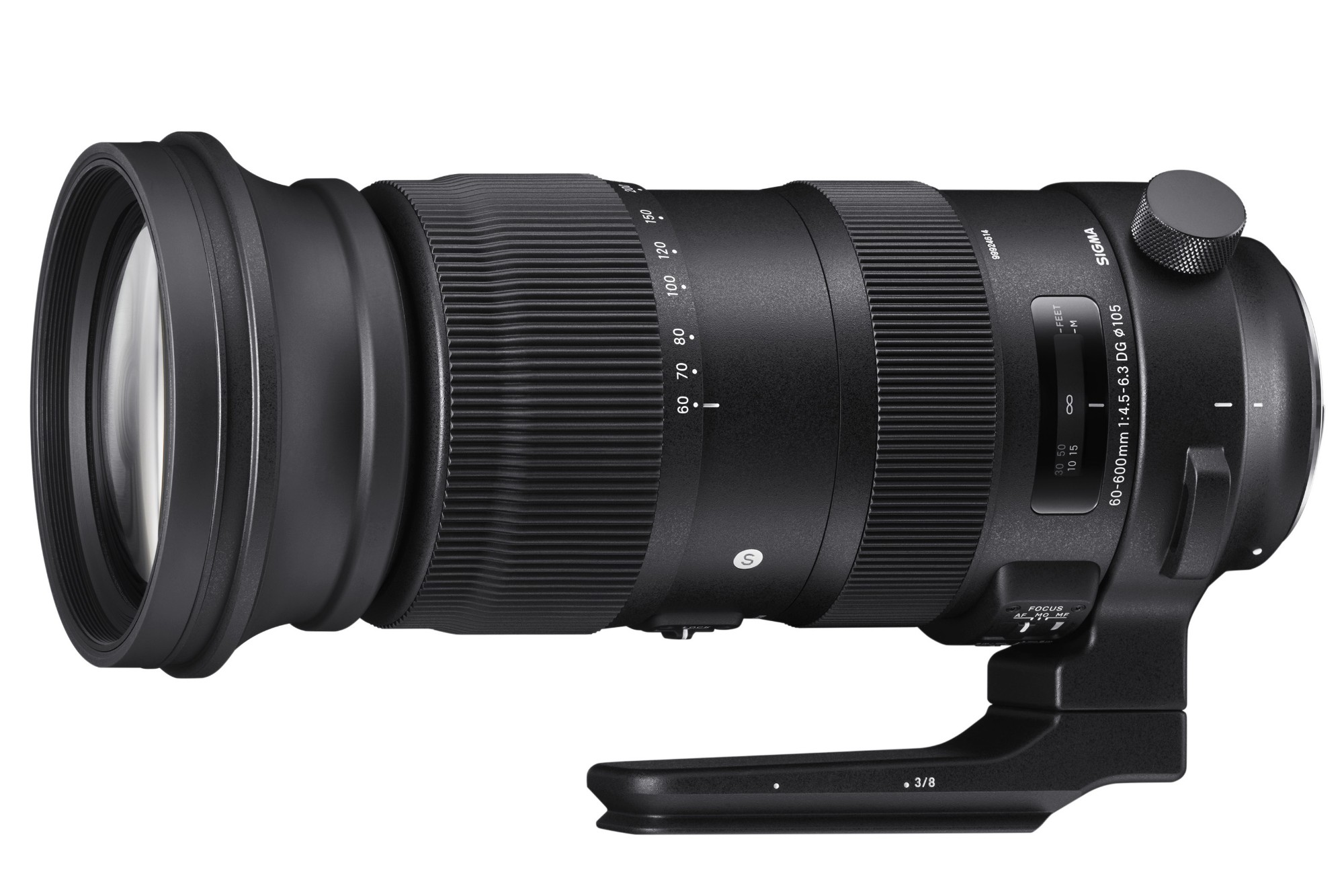 Sigma 60-600mm f/4.5-6.3 DG OS HSM Sport Telephoto Zoom Lens Canon Fit