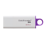 Kingston Technology DataTraveler G4 USB flash drive 64 GB USB Type-A 3.0 (3.1 Gen 1) Violet, Wit