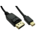 Cables Direct CDLMDP 1 m DisplayPort Mini DisplayPort Black