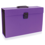 Rexel JOY Expanding Box File Perfect Purple