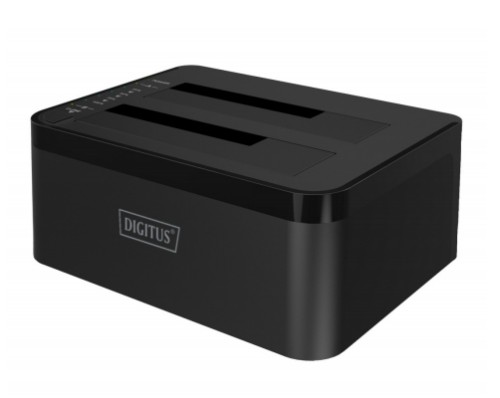 Digitus USB3.0 to Dual SATA (6G) USB 3.0 (3.1 Gen 1) Type-B Black