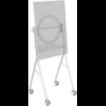 "Vision VFM-F10/HB flat panel floorstand 139.7 cm (55"") Portable flat panel floor stand White"