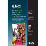 Epson Value Glossy Photo Paper - 10x15cm - 100 Vellen
