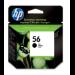 HP 56 Original Negro 1 pieza(s) Rendimiento estándar