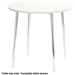 Arista FF ARISTA HGLOSS WHITE TABLE TOP KF73898