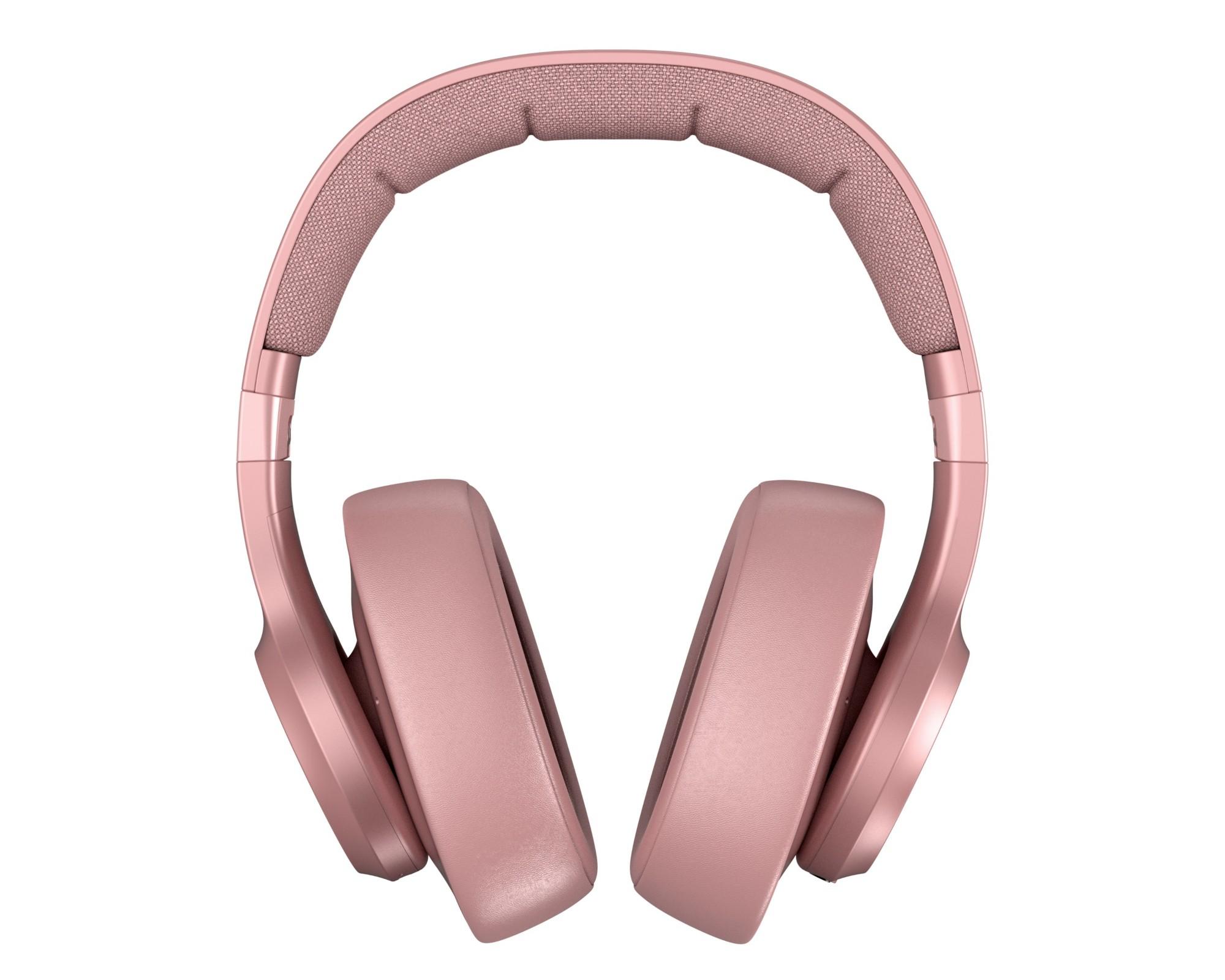 Fresh 'n Rebel Clam Auriculares Diadema Rosa