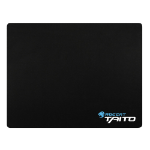 Roccat Taito 2017 Mini-Size Shiny Black Gaming Mousepad, 265 x 210 x 3 mm, Black (ROC-13-055)