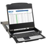Tripp Lite B030-DP08-17DIP KVM switch Rack mounting Black