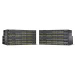 Cisco Catalyst WS-C2960X-48TS-LL Managed L2/L3 Gigabit Ethernet (10/100/1000) Black network switch