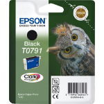 Epson C13T07914010 (T0791) Ink cartridge black, 470 pages, 11ml