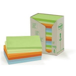 POSTIT 3M POSTIT RCYCLD RAINB PDS 76X127MM PK16