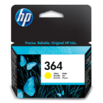 HP CB320EE (364) Ink cartridge yellow, 300 pages, 4ml
