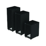 Eaton RAA24810PSB13U rack cabinet 24U Freestanding rack Black